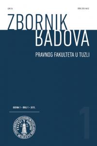 Zbornik radova 1/2015
